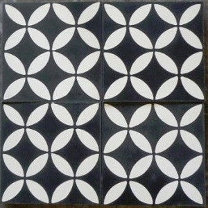 "Geometric Geo 10D 8"" x 8"" Cement Tile"