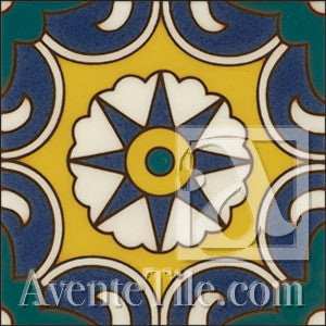 Malibu Del Norte A Spanish tile
