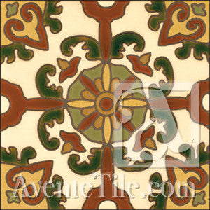Malibu Latigo A Spanish tile