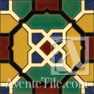 Malibu Decker A Spanish tile