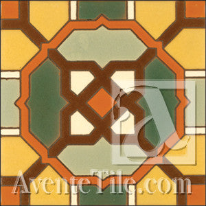 Malibu Decker B Spanish tile