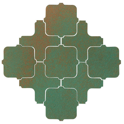 Clay Arabesque Tangier Copper