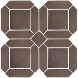 "3""x11"" Double Picket Set - Brown"