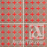 Geometrical Aragon 2CB Ceramic Tile Grouping