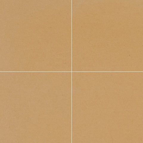 "Classic Solid Color ButterScotch 8""x8"" Encaustic Cement Tile"