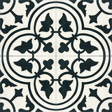 Mission Roseton C Encaustic Cement Tile