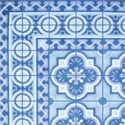 "Cuban Heritage Design 120 2B 8""x8"" Encaustic Cement Tile"