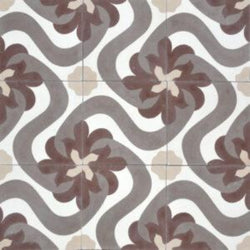 "Cuban Heritage Design 150 1A 8""x8"" Encaustic Cement Tile"