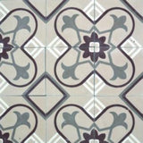 "Cuban Heritage Design 160 4A 8""x8"" Encaustic Cement Tile"