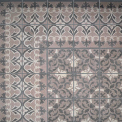 "Cuban Heritage Design 220 2A 8""x8"" Encaustic Cement Tile"