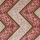 "Cuban Heritage Design 260 1A 8""x8"" Encaustic Cement Tile"