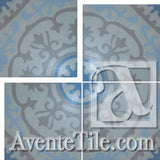 Cuban Heritage Design 140 4B Field Encaustic Cement Tile