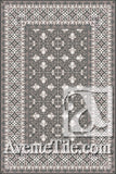 Cuban Heritage Design 220 2A Encaustic Cement Tile Rug
