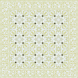 Cuban Cement Tile Design 230 Garden Colorway Rug