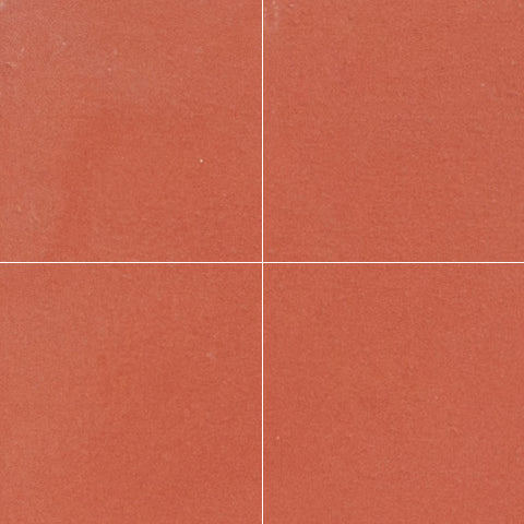 "Classic Solid Color Clay 8""x8"" Encaustic Cement Tile"