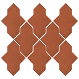 Clay Arabesque Castille Tile