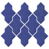 Clay Arabesque Castille Glazed Ceramic Tile - Periwinkle