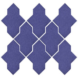 Clay Arabesque Castille Glazed Ceramic Tile - Spanish Lavendor Matte