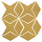 Clay Arabesque Granada Tile - Gold Rush