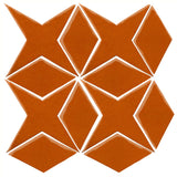 Clay Arabesque Granada Tile - Nutmeg 7517c