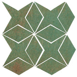 Clay Arabesque Granada Tile - Patina Matte 563u
