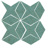 Clay Arabesque Granada Tile - Sea Foam Green Matte 5503u