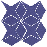 Clay Arabesque Granada Tile - Spanish Lavender Matte 7684u