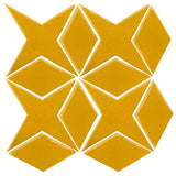 Clay Arabesque Granada Tile - Sunny Side Up 1225c