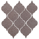 Clay Arabesque Malaga Ceramic Tile - Ash