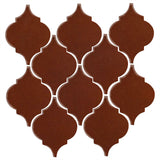 Clay Arabesque Malaga Ceramic Tile - Cinnamon