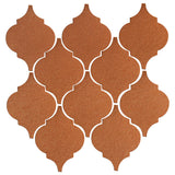 Clay Arabesque Malaga Hand Painted Ceramic Tile