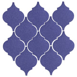Clay Arabesque Malaga Ceramic Tile - Spanish Lavendor Matte