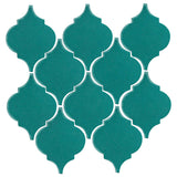 Clay Arabesque Malaga Ceramic Tile - Teal