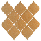 Clay Arabesque Malaga Ceramic Tile - Yellowstone