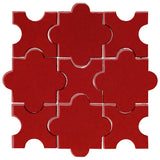 Clay Arabesque Segovia Fire Engine Red