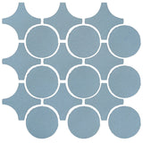 Clay Arabesque Sintra Glazed Ceramic Tile - Turquoise