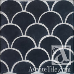 Arabesque Conche Cement Tile