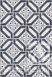 Cuban Heritage Design 100 2A Encaustic Cement Tile Rug