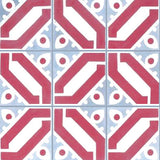 Cuban Heritage Design 100 1A Encaustic Cement Tile Pattern