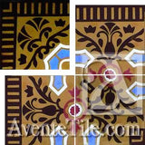 Cuban Heritage Design 110-1C Outside Corner Cement Tile