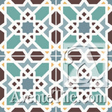 Mission Marrakech Encaustic Cement Tile