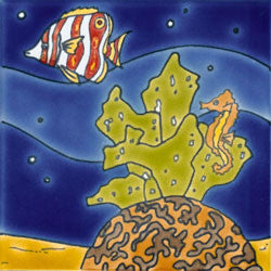 Reef Mural Fish and Coral No. 4