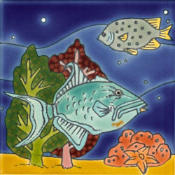 Reef Mural Fish and Coral No. 5