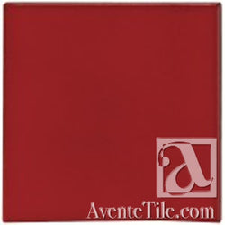 Malibu Field Fire Engine Red #7622C Ceramic Tile
