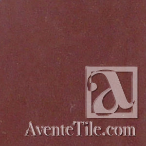 "Classic Solid Color Cordoba Red 8"" x 8"" Cement Tile"