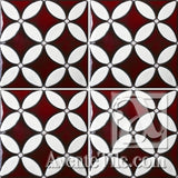 Geometrical Circles A Ceramic Tile Grouping