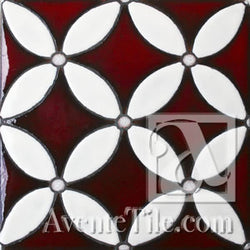 Geometrical Circles A Ceramic Tile