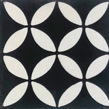 "Geometric Geo 10D Encaustic Cement Tile 8""x8"""