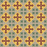 Mission Holy Grail - C Encaustic Cement Tile