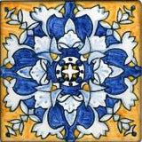 "Spanish Cadiz 6"" x 6"" Hand Painted Ceramic Tile"